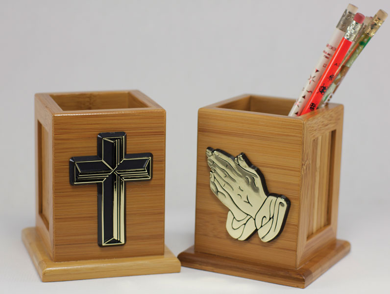 Praying Hands Pencil Holder