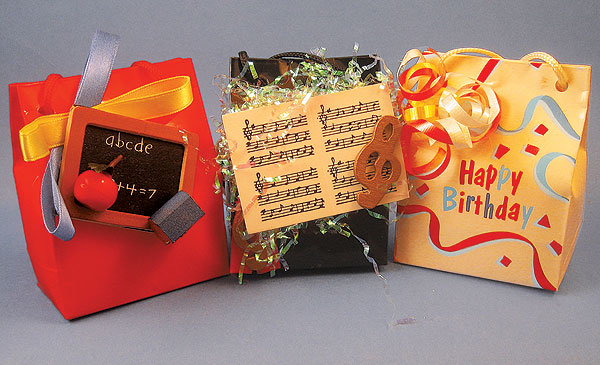 Musical Mini Bags - Happy Birthday