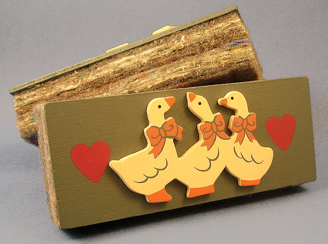 Eraser with Duck Decoration