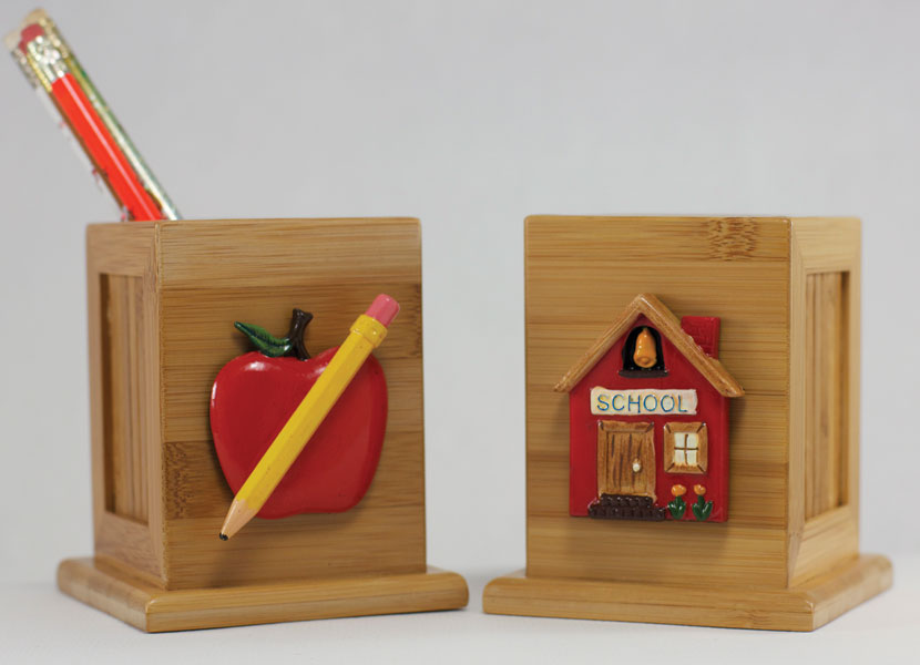 Pencil Holder - School House design