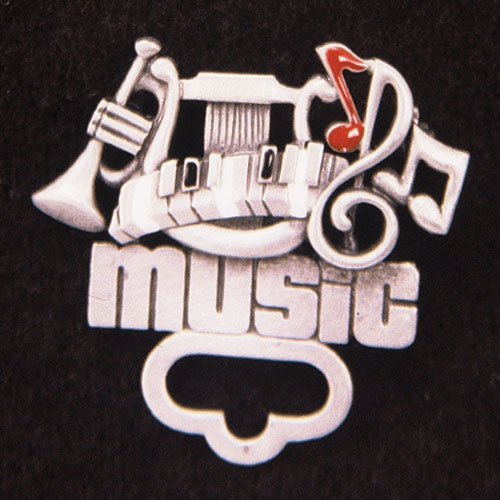 Music Pin/Holder