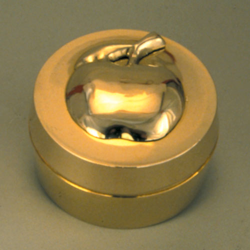 Brass Box With Apple Lid
