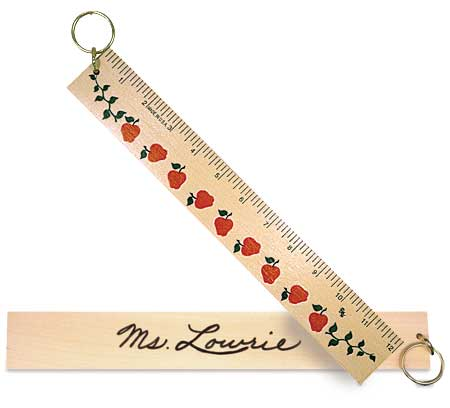 Ruler Key Ring