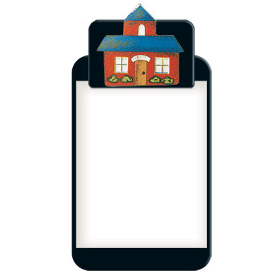 School House Clipboard