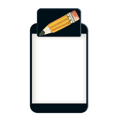 Pencil Clipboard