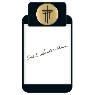 Christian Motif Clipboard