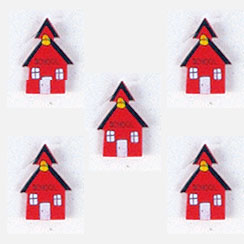 School House Button Covers