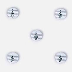 Music Button Covers