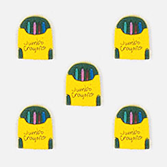Jumbo Crayon Box Button Covers