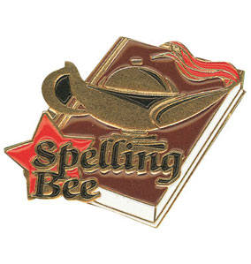 Spelling Award Pin