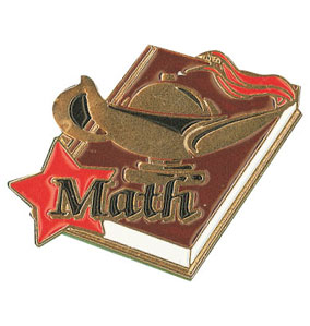 Math Award Pin