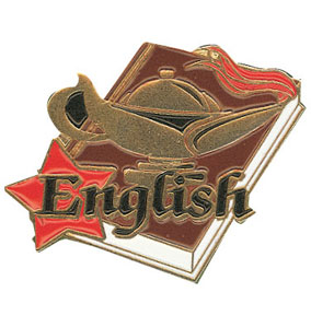 English Award Pin