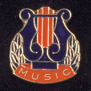 Music Award Pin