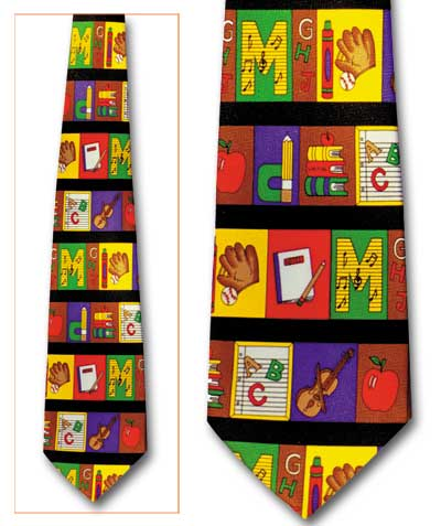 School Days Parallel Classic Novel Necktie