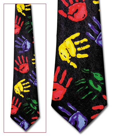 Hand Painting Classic Novel Necktie