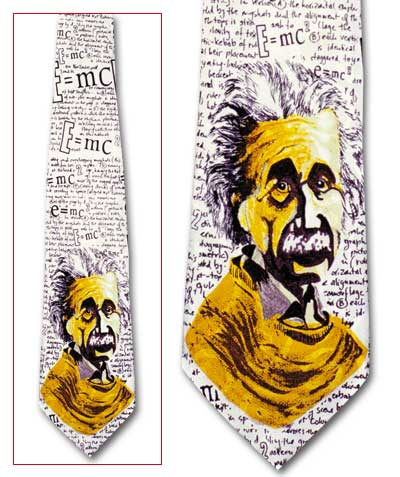 Einstein-Math Classic Novel Necktie