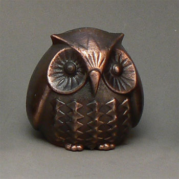 Owl Nostalgic Miniature Pencil Sharpener